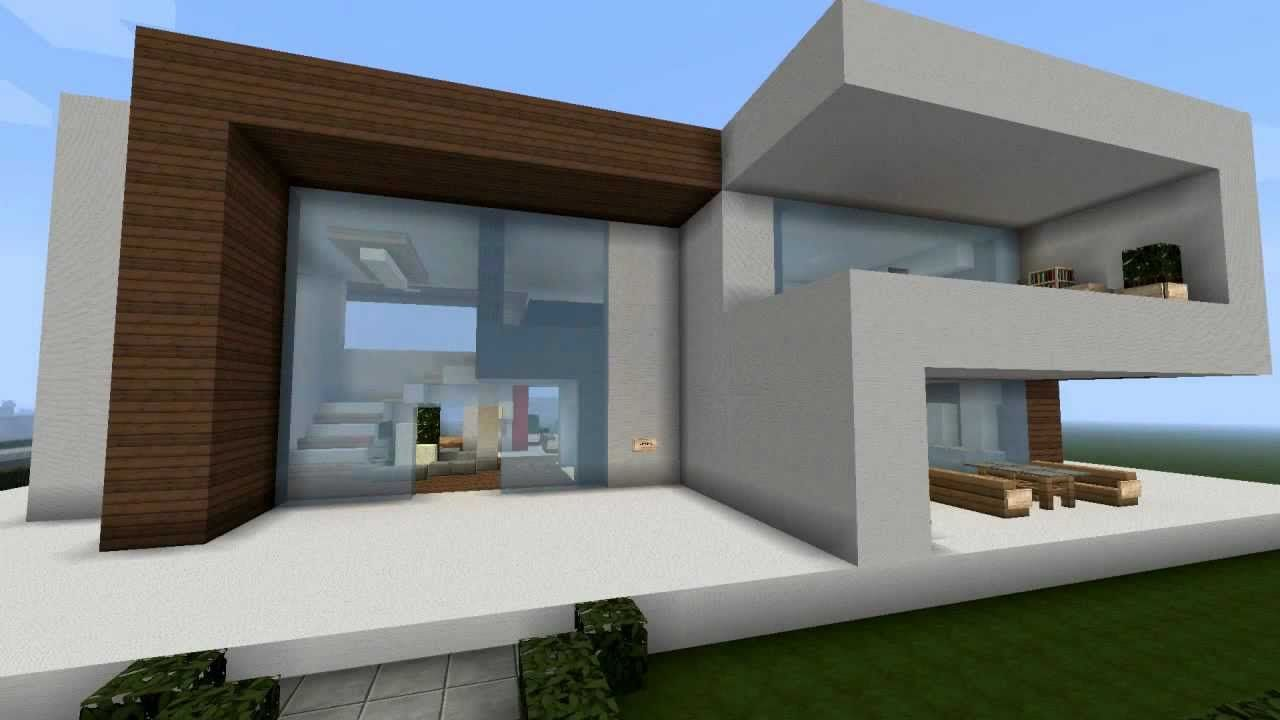 Modernes Minecraft Haus - My Best Modern House | minecraft houses ...