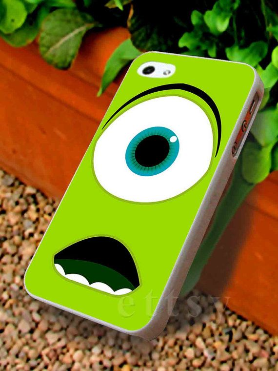 Mike Wazowski Monster University 2 For iphone 4/4s case by Ettsi, $13.00