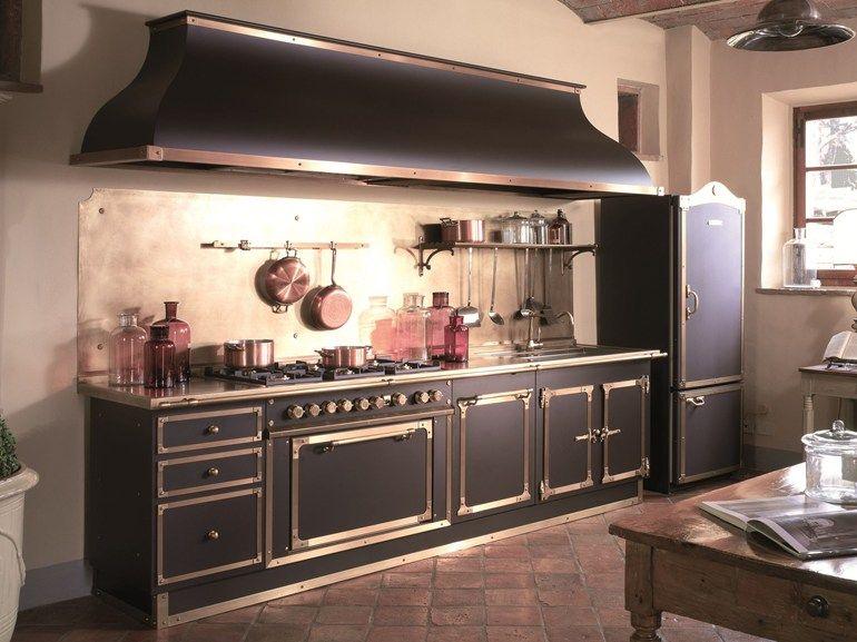 Cucina lineare su misura ARTIMINO PALACE by Officine Gullo ...