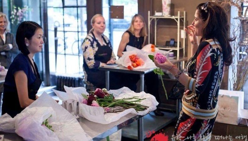 메레디스 와가 플로리스트 플라워 디자인 클래스 _ 플라워 스쿨 뉴욕 유학 연수 | 두드림 유학