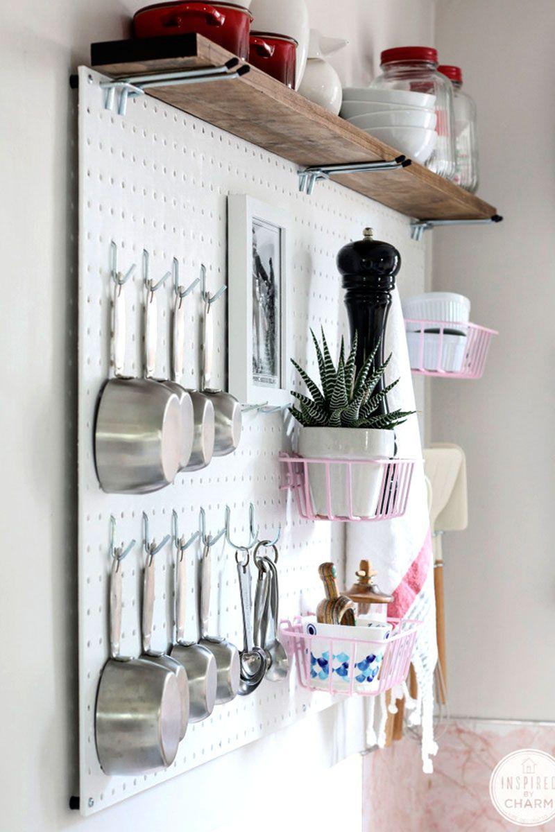 Painel para pendurar utensílios de cozinha | COZINHA CHARMOSA E ...