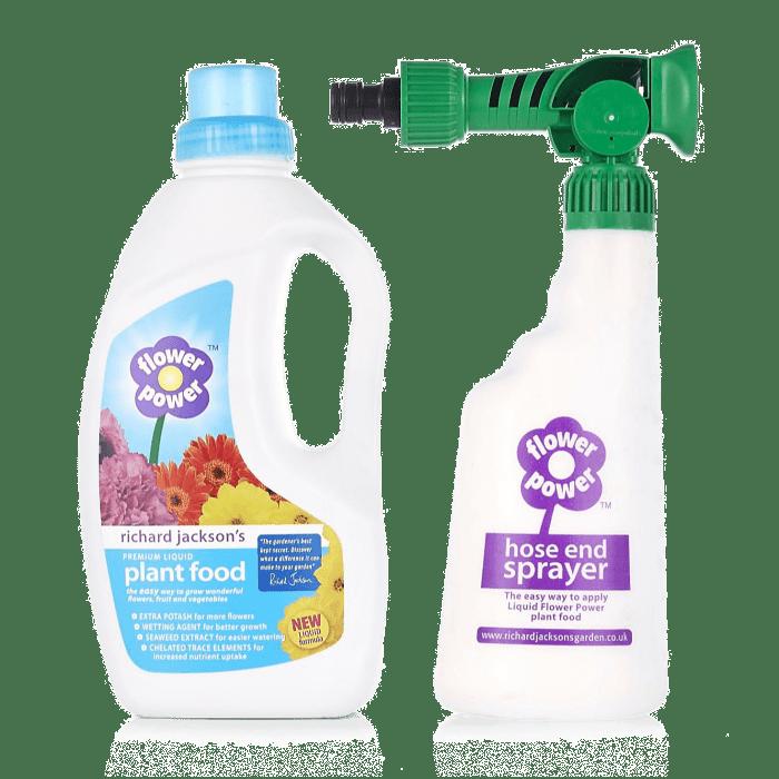 Flower Power Hose End Sprayer Flower Power Spray Bottle Bottle
