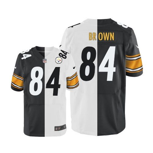 save off d3d6c 90131 Antonio Brown Men's Limited Team/Road Two Tone Jersey: Nike ...