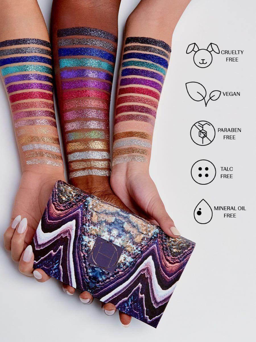 Crystals Pressed Glitter Glitter eyeshadow, Eyeshadow