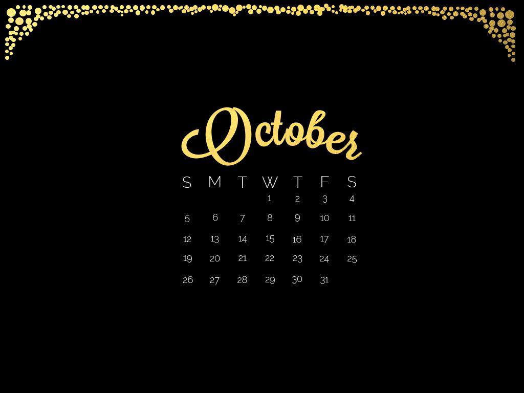 Gold Black October