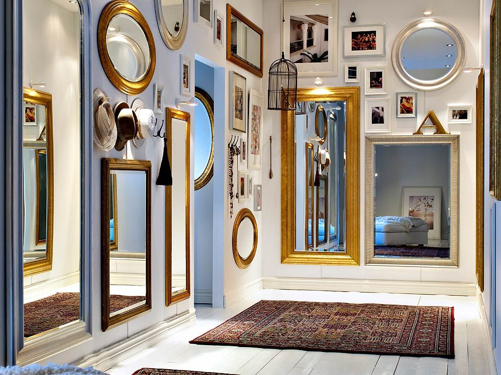 Mirrors as decor Use mirrors for decoration and make your home ...