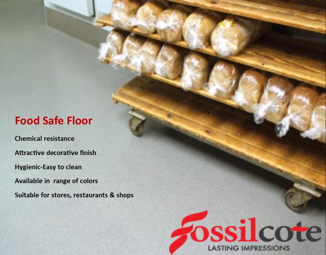 Epoxy Floor Coating For Restaurants And KitchensHas Antimicrobial - Epoxy floor coating for restaurants