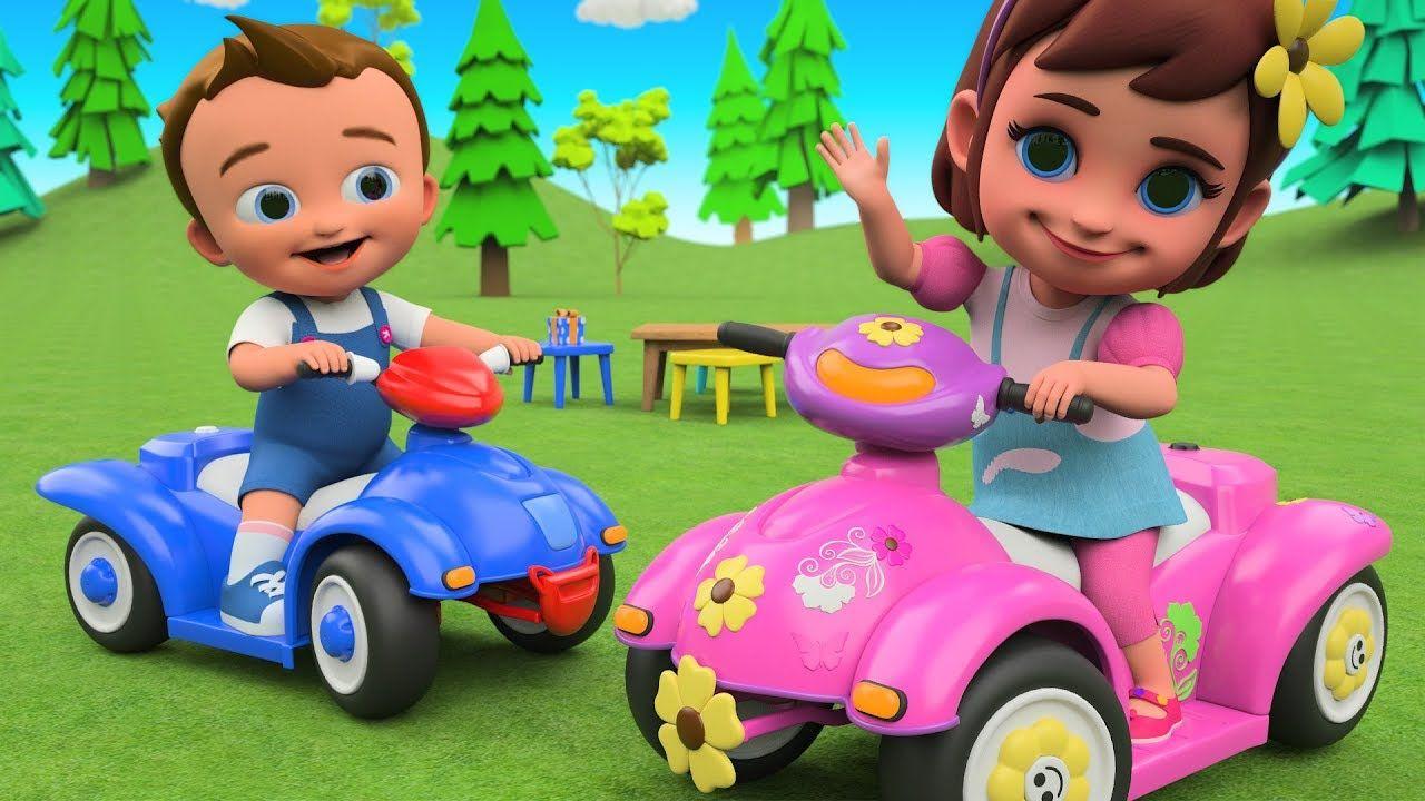 Toddler Learning Videos Babies Bike Car Assembling 3d Animated