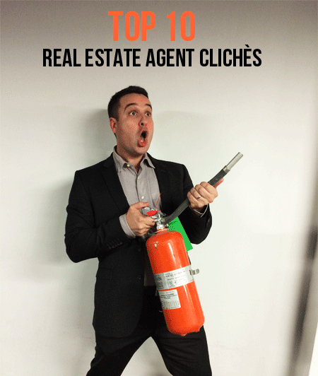 Top Ten Realtor Cliches Check Out Today S Video On Real Estate Agent Cliches 10 Business Cards At The Carw Real Estate Agent Real Estate Investing Cliche