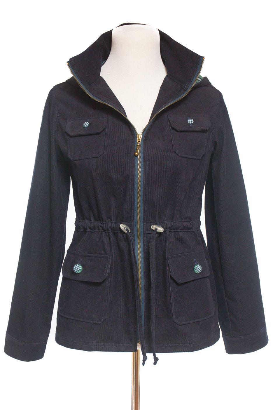 Lonetree Jacket Sewing Pattern by Allie Olson | Jacke nähen ...