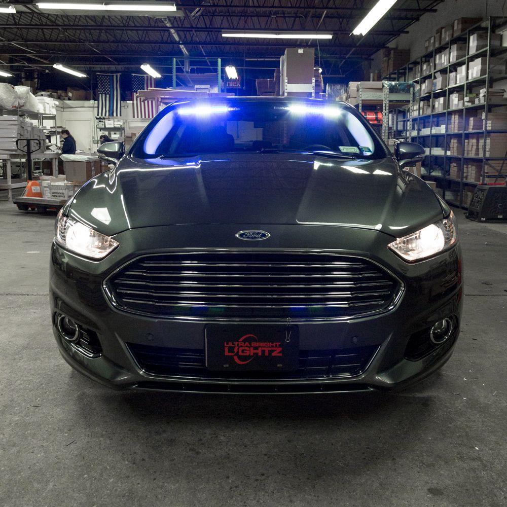 ubl v6 2 interior visor light bar ford fusion interiors and led ubl v6 2 interior visor light bar police vehiclespolice