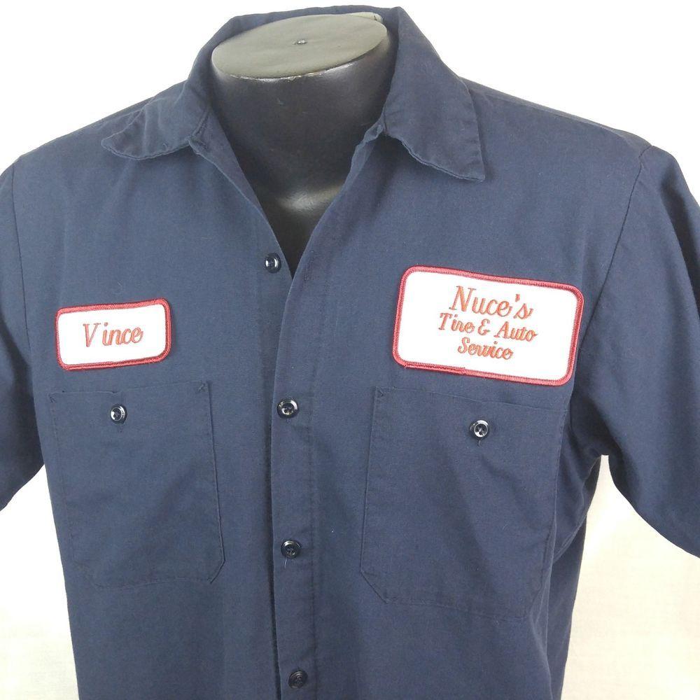 Mechanic Work Shirts With Name Patch Nils Stucki
