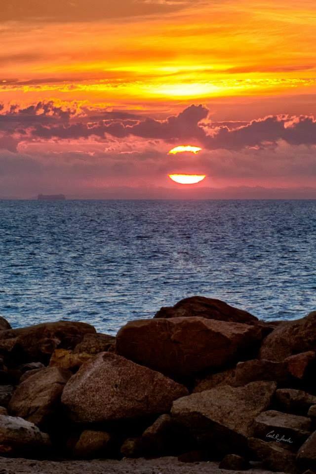 Sunrise at Camp Ellis Beach, ME | Happy places, Sunrise