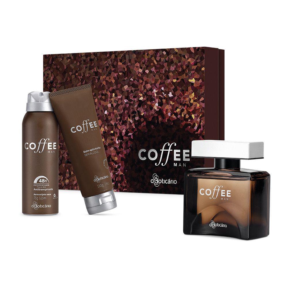 Outras KIT PRESENTE COFFEE MAN - R$127,49 + frete grátis + parcelado