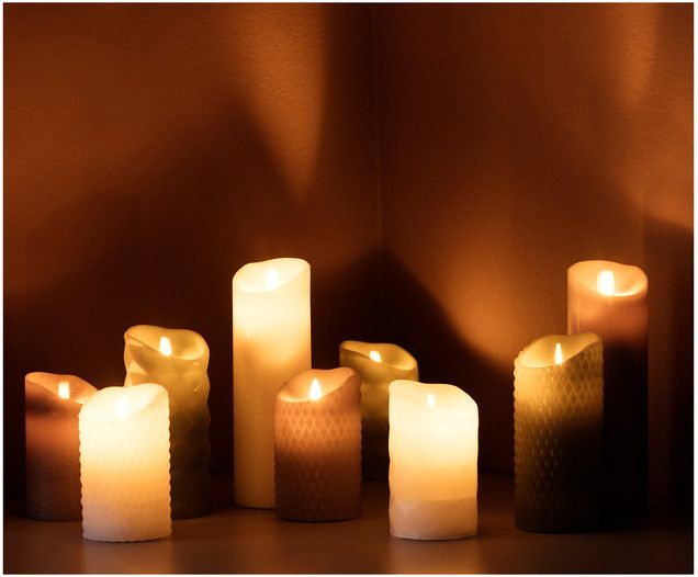 Led Kerze Pure Pure Products Led Candles