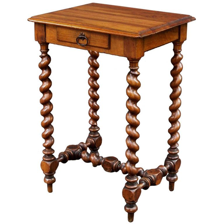 High Quality French Barley Twist Side Table | From A Unique Collection Of Antique And  Modern Side Tables