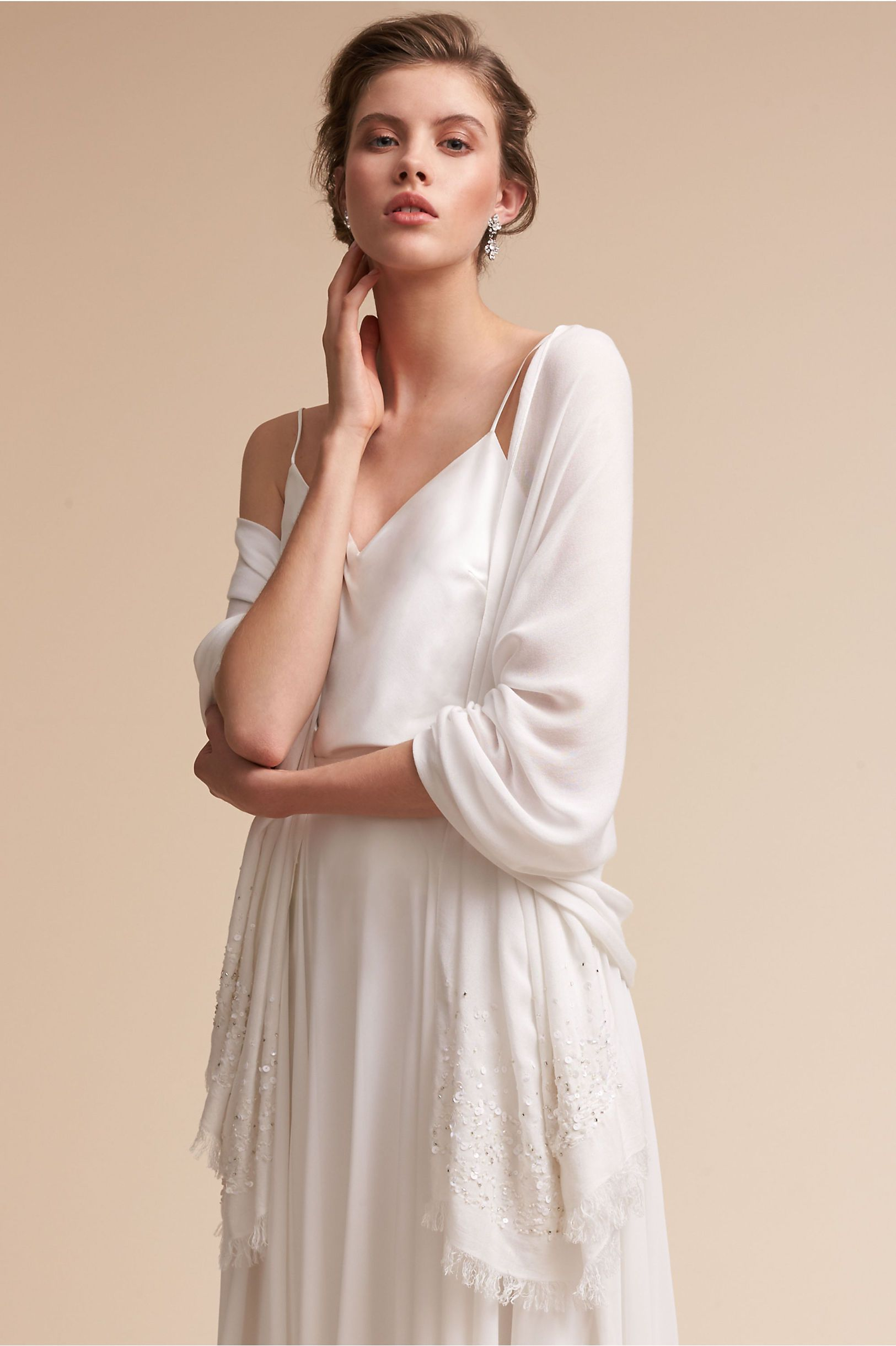 Bhldn ivory annelise pashmina in bride bhldn want to buy