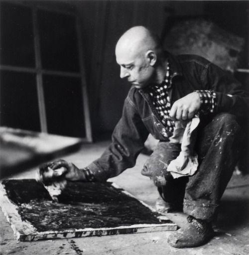 Alexander Liberman, Jean Dubuffet, New York City, 1952...