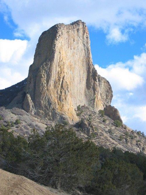 Needle Rock, Delta County, Colorado