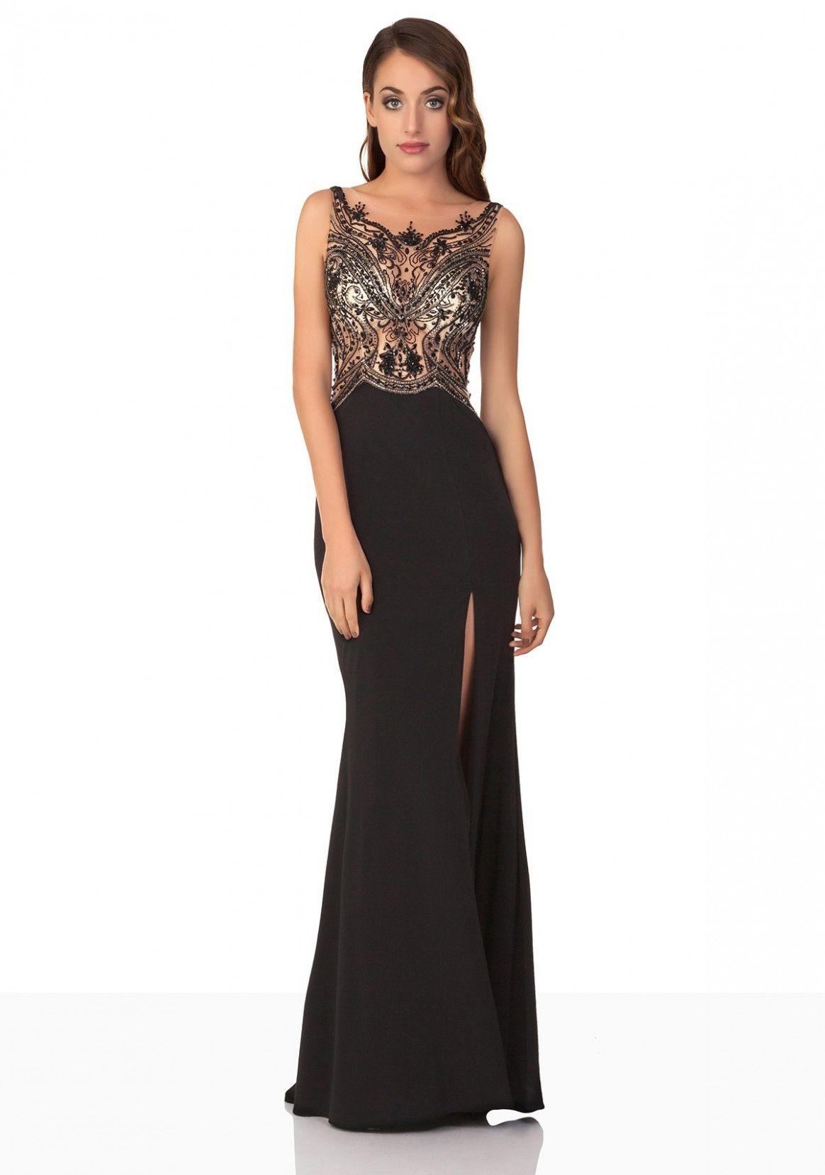 13 Abendkleider Lang Cremefarben in 2020  Abendkleid, Abschlussball kleider, Abendkleid schwarz