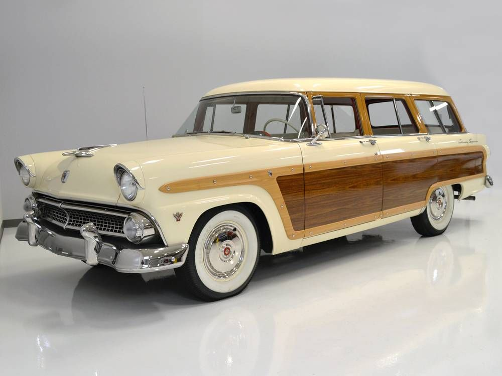 1955 ford country squire station wagon for sale 1635325 hemmings motor news classic cars. Black Bedroom Furniture Sets. Home Design Ideas