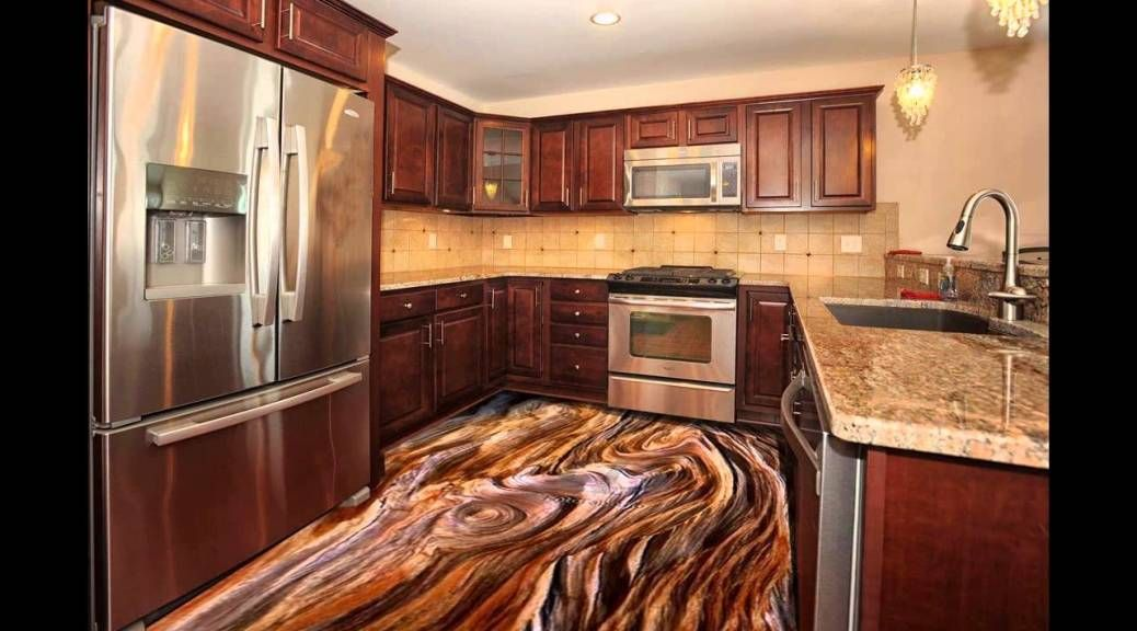 3d Kitchen Floor Murals With Epoxy Coating Should We Install 3D Floor Art  With Epoxy Flooring