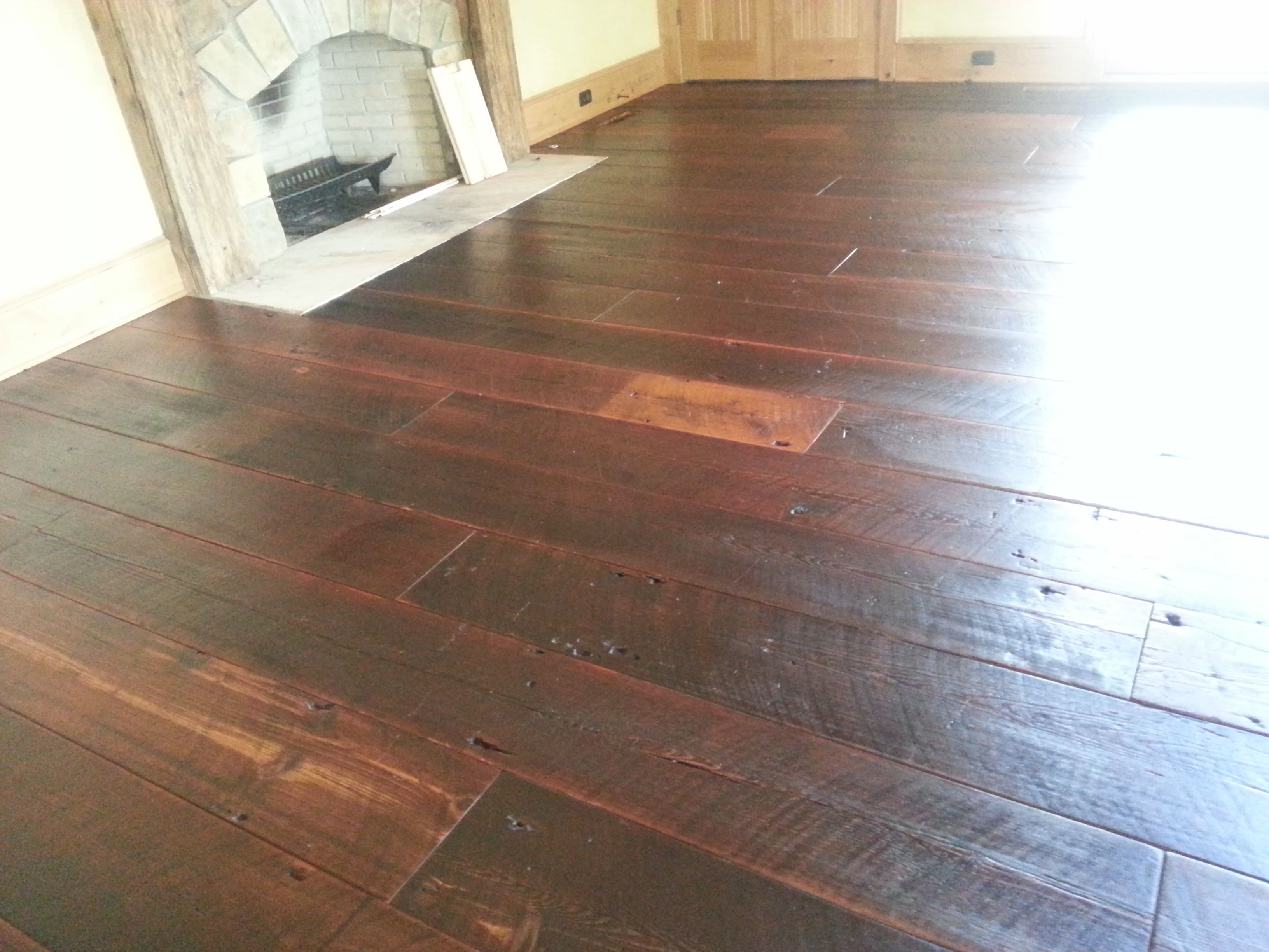 Re Claimed 12 Inch Wide Heart Pine Plank Floor Wide Plank Hardwood Floors Wood Floors Wide Plank Rustic Wood Floors