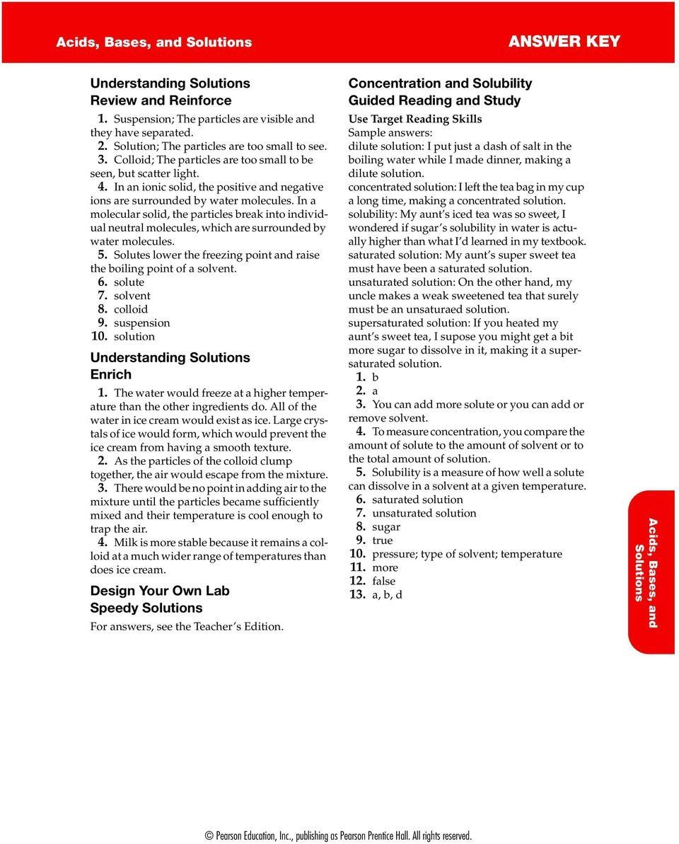 Pin on Printable Worksheet Answer Key