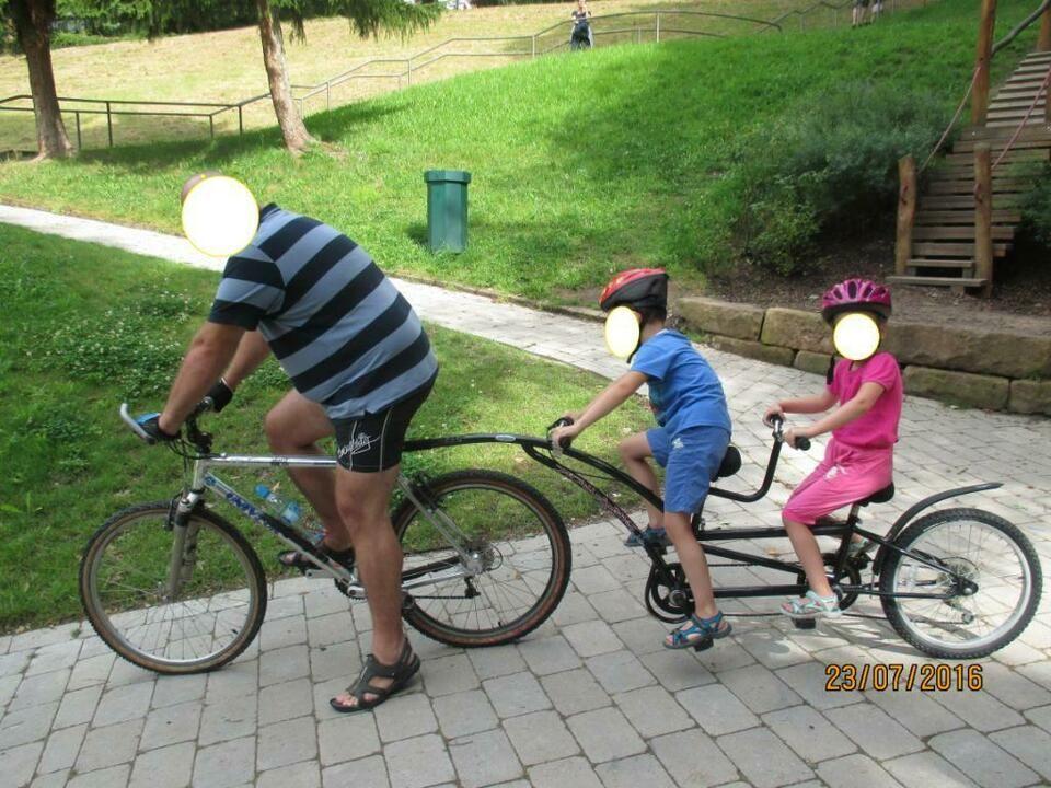 2 Sitz Fahrradnachlaufer Nachlaufer Anhanger Fahrradanhanger In