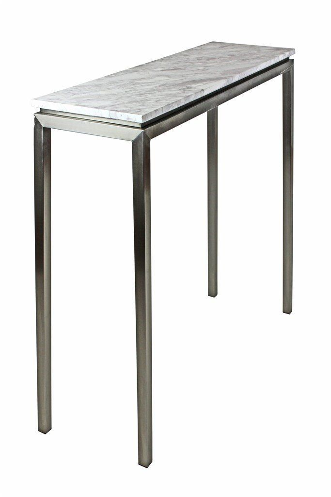 Lilia Console Table White Marble   White marble, Console tables ...