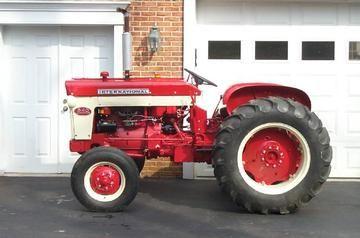 1961 International Harvester 340 Utility Antique Tractor