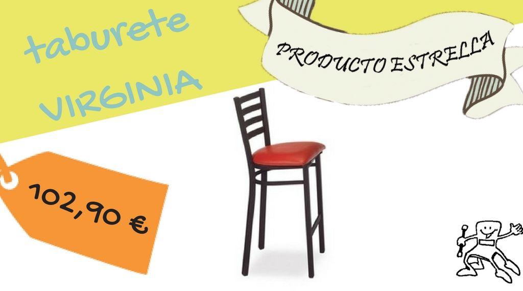Taburete para cafeterías #mobiliariocomercial