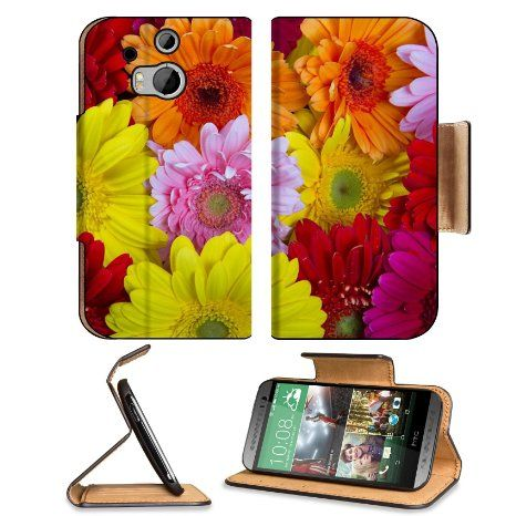 HTC One M8 Flip Case flowers with filter effect retro vintage style 36780244 by MSD Customized Premium Deluxe Pu Leather generation Accessories HD Wifi 16gb 32gb Luxury Protector Case