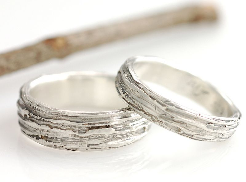 nature inspired wedding rings by beth cyr jewelry - Nature Inspired Wedding Rings