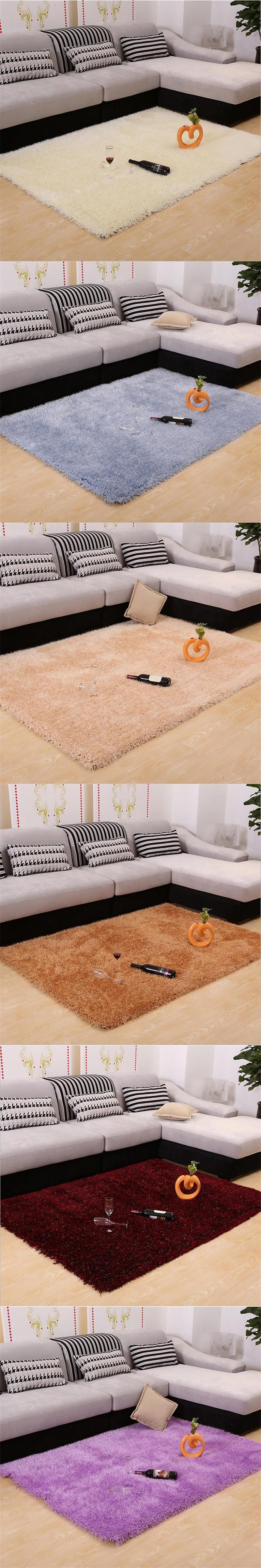 Thicken Stretch Yarn Carpets For Living Room Home Bedroom Rugs And Carpets Korean Brief Coffee Table Area Rug Floor M Living Room Carpet Bedroom Rug Floor Rugs