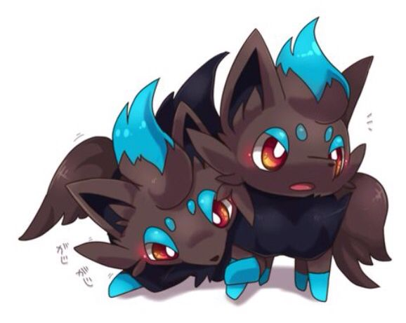 Shiny Zorua | Pokémon | Pinterest | Pokémon, Cute pokemon ...  Shiny Zoroark Card
