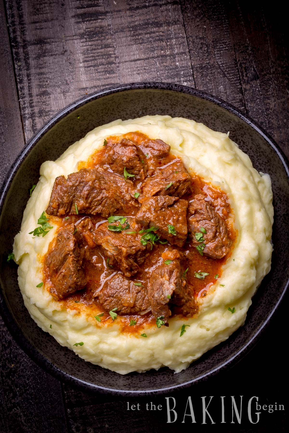 Photo of Beef Stew made in an Instant Pot with Beef, Onions, Carrots,…