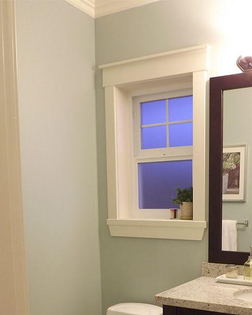 Powder Room Sneek Peek Trim Paint Color Nantucket Home Home