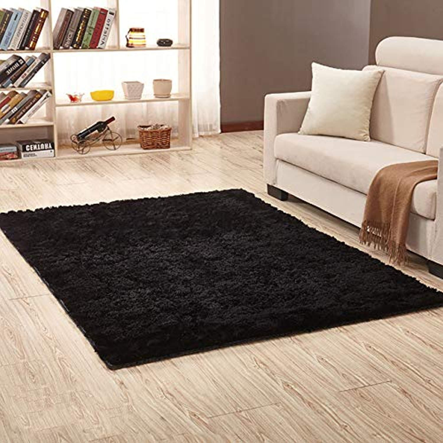 Thee Ultra Soft Shaggy Fluffy Area Rug Home Decor Living Room