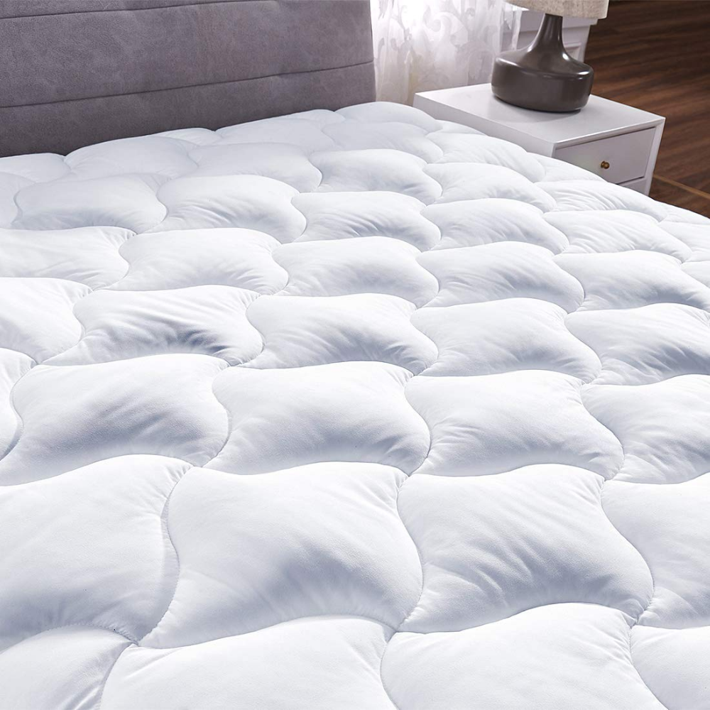 Amazon Com Youmako Quilted Fitted Mattress Pad Cover Pillowtop