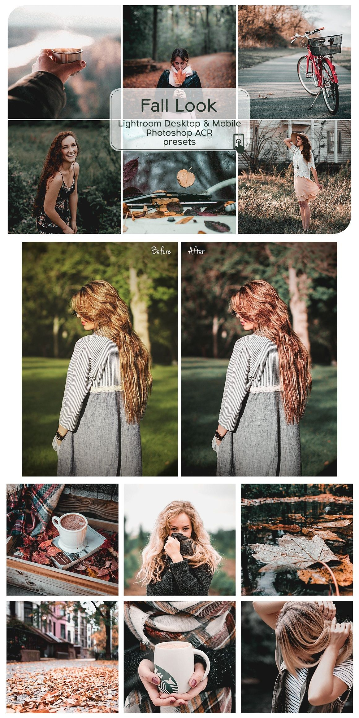 Fall Look Lightroom Presets | Photo filters photoshop ...