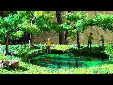 Maqueta de un jard n hecho de cuerda videos pinterest for Maquetas de jardines