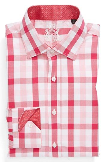 English Laundry Trim Fit Dress Shirt Fitted Dress Shirts Shirts