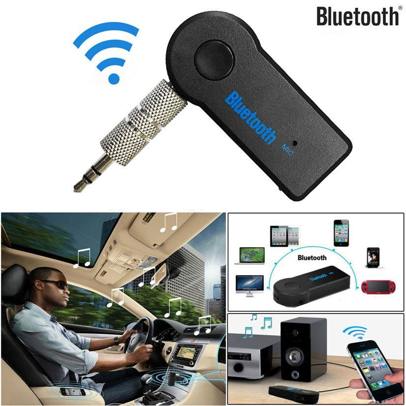 Factory Price Hot Details about Wireless Bluetooth 3.5mm AUX Audio Stereo Music Home Car Receiver Adapter Mic Free Shipping