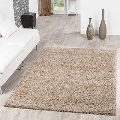 Shaggy Teppich Hochflor Langflor Teppiche Wohnzimmer Preishammer - wohnzimmer farben beige
