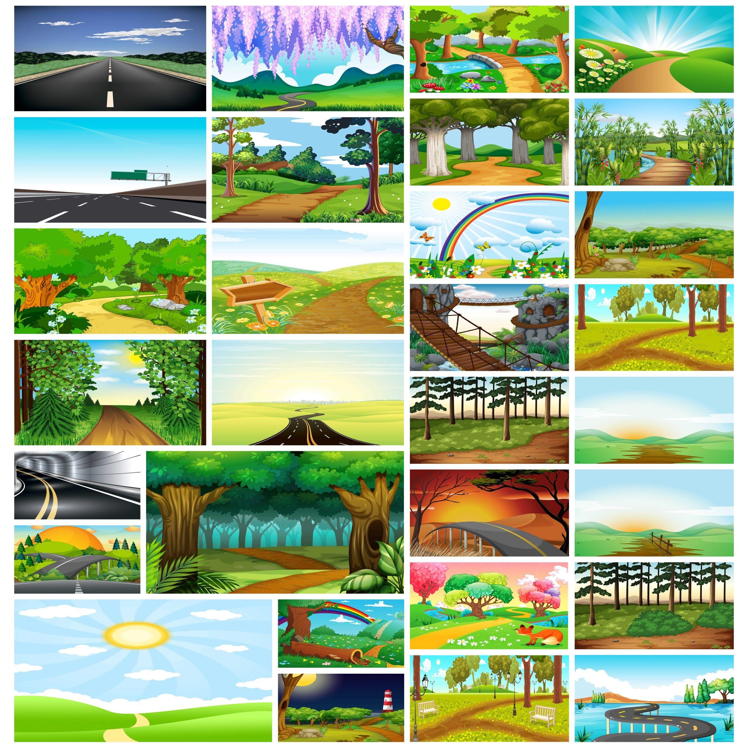 خلفيات مسار المشي طبيعية لعروض البوربوينت In 2021 Desktop Screenshot Art