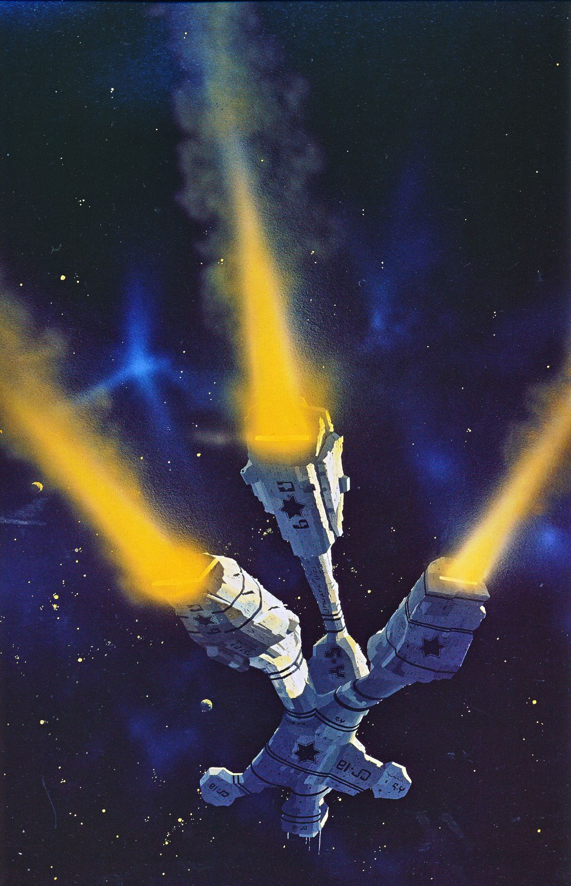 Artwork By Chris Foss Voyage Of The Space Beagle By A E Van