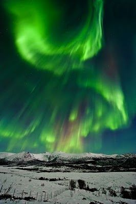 Would love to go and see the Northern Lights some day!