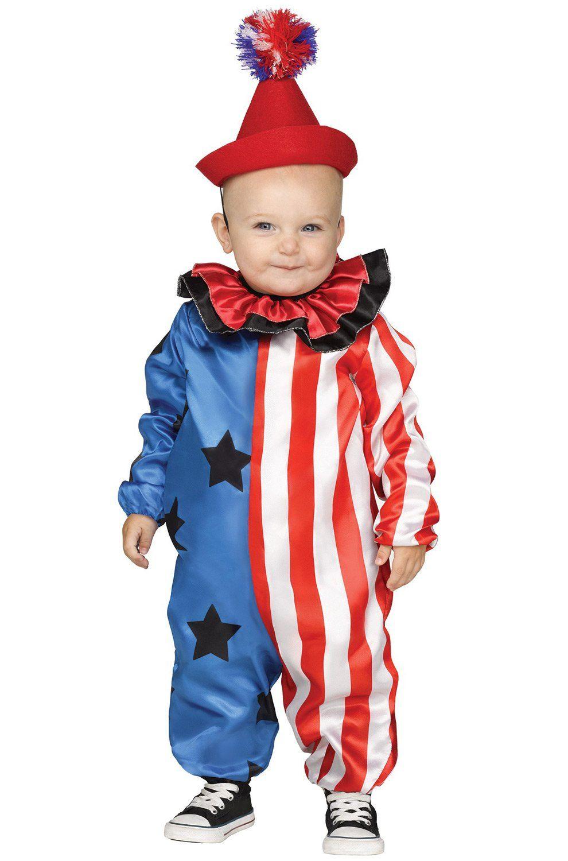 Halloween Girl Costumes > Happy Clown Toddler Costume