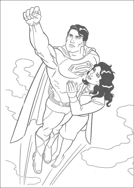 Superman Ausmalbilder Ausmalbilder Fr Kinder Superhelden: Superman Ausmalbilder 23